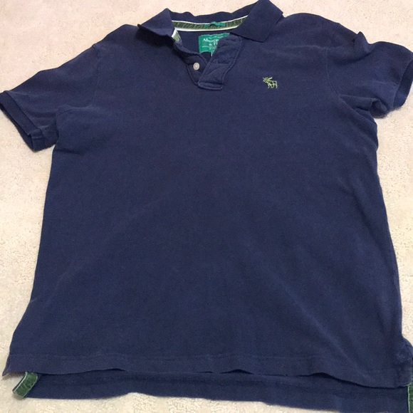 Abercrombie & Fitch Other - A&F navy polo, FREE w/ ANY PURCHASE